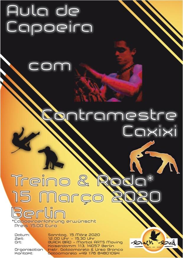 Capoeira Contramestre Caxixi