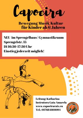 Capoeira Sprengelhaus NEU